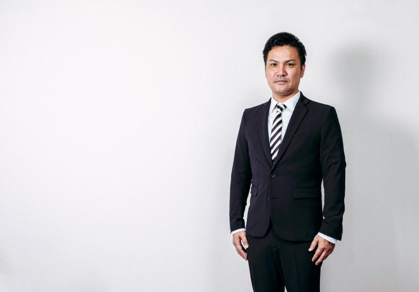 外薗建設⼯業株式会社代表取締役社⻑ 外薗太⼀郎の写真